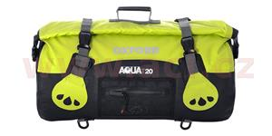 Vodotesný vak Aqua20 Roll Bag OXFORD UK čierny/fluo objem 20l