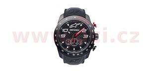 hodinky TECH CHRONO PVD ALPINESTARS  čierna/červená pryžový Opasok