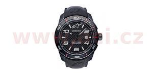 hodinky TECH PVD ALPINESTARS  čierna pryžový Opasok