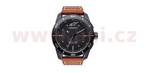 hodinky TECH HERITAGE ALPINESTARS  čiernamatná kožený Opasok