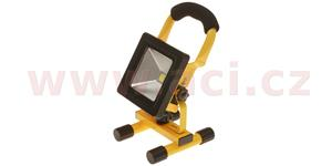 LED reflektor s akumulátorem 10 W COB 600 lm