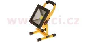 LED reflektor s akumulátorem 20 W COB 1200 lm