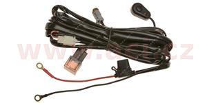 kabeláž k LED pracovním svetlometům spínač spínací relé poistka bateriová očka