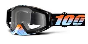 okuliare Racecraft Starlight 100% čiré plexi + Chránič nosu +10 strhávaček