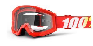 okuliare Strata Furnace 100% číré plexi s čepy pre slídy