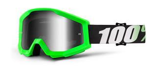 okuliare Strata Arkon 100% stieborné chrom plexi s čepy pre slídy