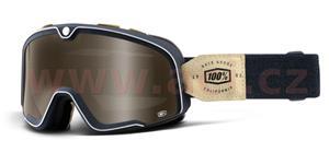 custom okuliare Barstow Raw 100% kouřové bronzové plexi