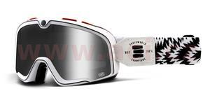 custom okuliare Barstow Deus Spray Custom 100% stieborné chrom plexi