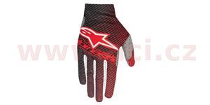 rukavice Dune 1 2018, ALPINESTARS - Itálie (červené/černé, vel. S)