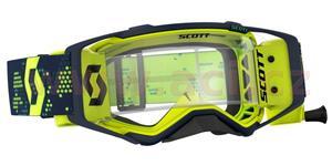 okuliare preSPECT WFS SCOTT žlté/čierne čiré plexi s Roll-Off