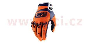 rukavice AIRMATIC, 100% - USA (oranžová/modrá , vel. 2XL)
