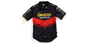 košile PILOT GEICO HONDA, 100% - USA (černá , vel. S)