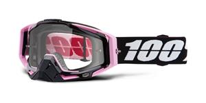 brýle Racecraft Floyd, 100% - USA (čiré plexi + chránič nosu +20 strhávaček)