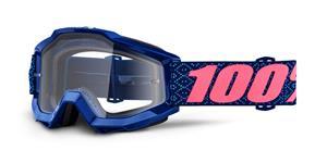 brýle Accuri Futura, 100% - USA (čiré plexi s čepy pro slídy)