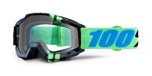 brýle Accuri Zerg, 100% - USA (čiré plexi s čepy pro slídy)