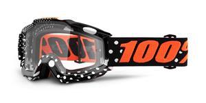 brýle Accuri Gaspard, 100% - USA (čiré plexi s čepy pro slídy)