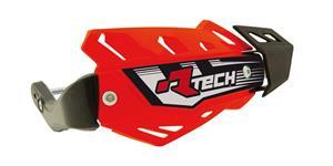 kryty páček FLX ATV, RTECH - Itálie (neon oranžové, 4 varianty v 1, vč. montážní sady)