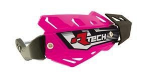 kryty páček FLX ATV, RTECH - Itálie (neon růžové, 4 varianty v 1, vč. montážní sady)