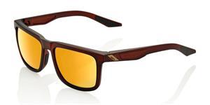 sluneční brýle BLAKE , 100% (zabarvená zlatá skla)
