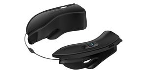 Bluetooth handsfree headset 10UPAD pro přilby HJC IS-17 (dosah 0,9 km), SENA