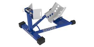 držák předního kola motocyklu Bike Dock, OXFORD (modrý)