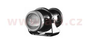 přídavné mlhové světlo H3, kruhové černý rámeček (průměr 66 mm) Micro DE HELLA
