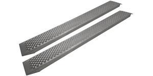 nájezdová rampa hliníková - dlouhá, Q-TECH (1 pár)