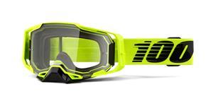 brýle ARMEGA Nuclear Citrus, 100% (čiré plexi s čepy pro slídy)