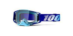 brýle ARMEGA Royal, 100% (čiré plexi s čepy pro slídy)