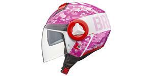 přilba Breeze Camo, V-Helmets (růžová, vel. L)