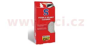 S100 čistič hledí s mikrovláknovou utěrkou - Visor & Helmet Cleaner 100 ml