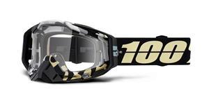 brýle RACECRAFT ERGOFLASH, 100% (čiré plexi)
