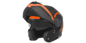 přilba N965 Peak, NOX (černá/oranžová, vel. XS)