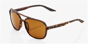 sluneční brýle KASIA - bronzová čočka PEAKPOLAR, 100% (hnědá)