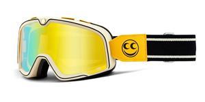 BARSTOW 100% - USA , brýle See See - zrcadlové žluté plexi