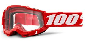 ACCURI 2 100% - USA , brýle červené - čiré plexi