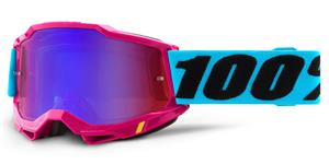 ACCURI 2 100% - USA , brýle Lefleur - zrcadlové červené/modré plexi
