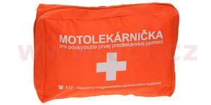 motolékárnička SK - textilní výbava dle platné vyhlášky MZ SR 143/2009 z.z. oranžová