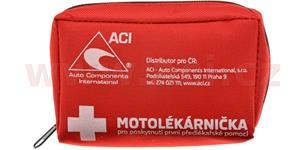 motolékárnička CZ - textilní novelizovaná výbava dle vyhlášky 216/2010 Sb.