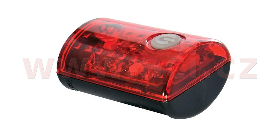 světlo na kolo zadní ULTRA TORCH MINI+, OXFORD (dobíjení pomocí USB, světelný tok 15 lm)
