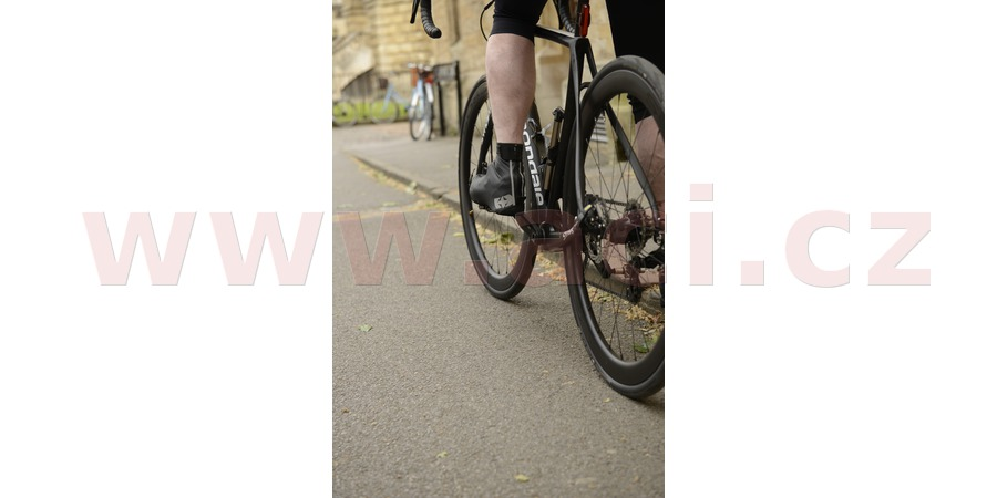 voděodolné návleky přes cyklo boty a tretry BRIGHT SHOES 1.0, OXFORD (černé, vel. S)