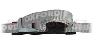 popruhy Cam Straps nastavitelné s fixací volného konce pomocí suchého zipu OXFORD UK šedé 1 pár