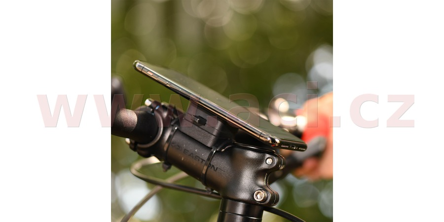 držák mobilních telefonů/kamer/navigací CLIQR, sada pro upevnění na cyklo řídítka, OXFORD