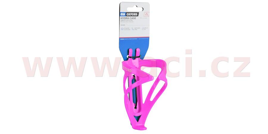 košík HYDRA CAGE, OXFORD (růžový, plast)
