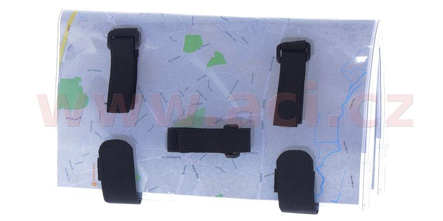 držák s voděodolným, skládacím pouzdrem na mapy, OXFORD