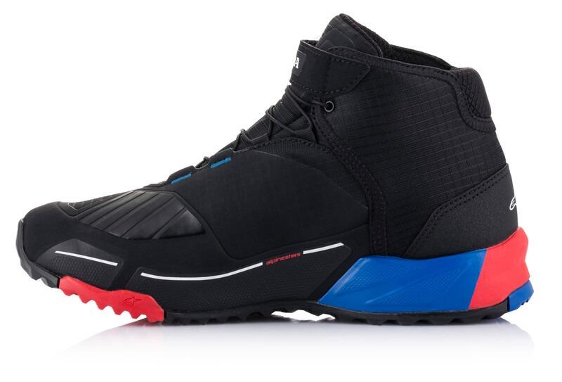 topánky CR-X DRYSTAR HONDA kolekce, ALPINESTARS (černá/červená/modrá, veľ. 47)