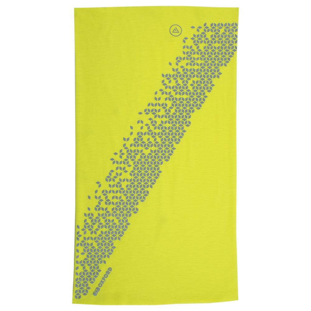 nákrčník TECH TUBE PRO COOLMAX®, OXFORD ADVANCED (žlutá fluo/reflexní)