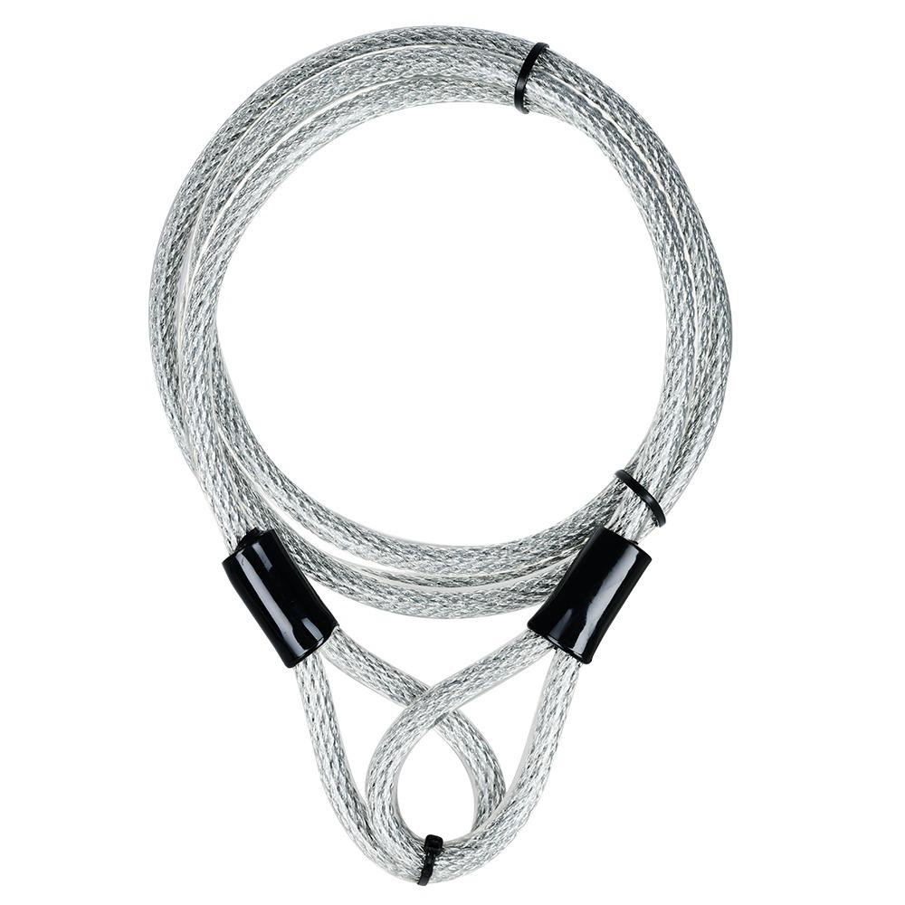 zámek U profil SENTINEL SHACKLE DUO, OXFORD (černý/šedý, výška čepu 320 mm, průměr čepu 14 mm)