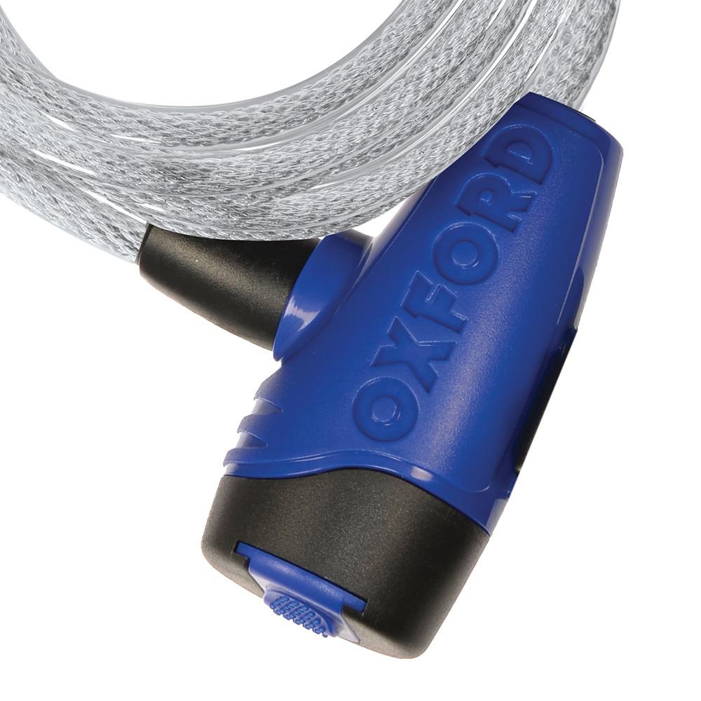 zámek CABLE12, OXFORD (čirý, průměr lanka 12 mm, délka 1,8 m)
