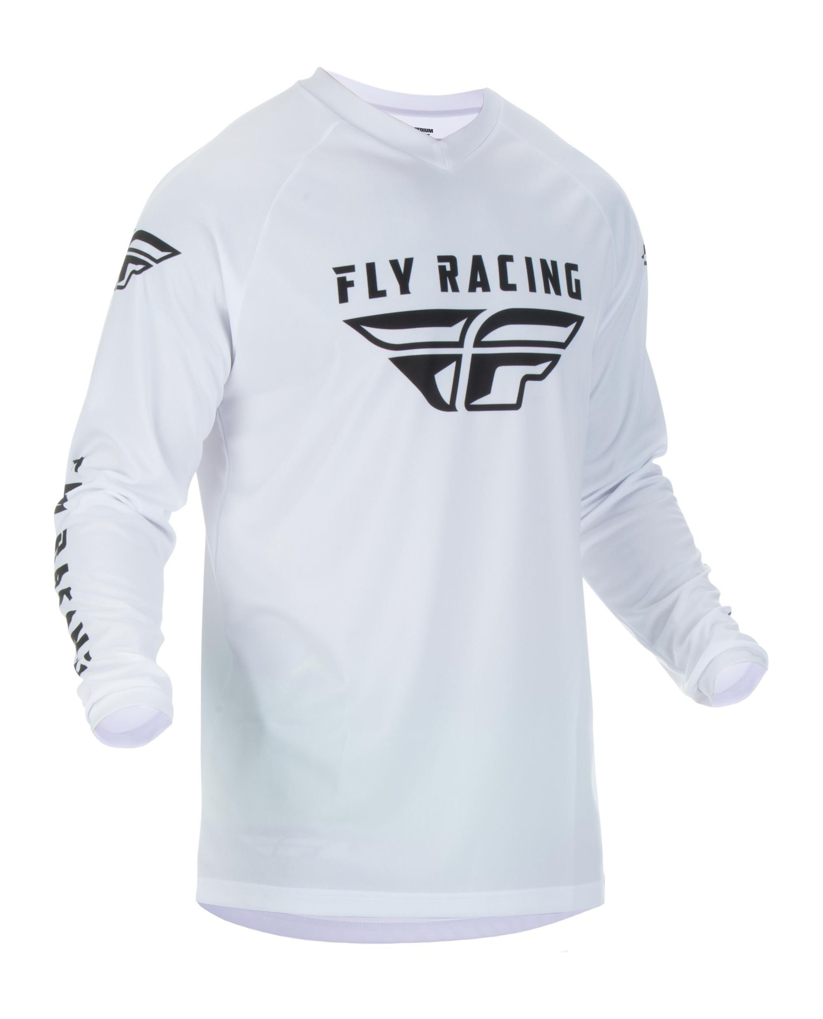 dres UNIVERSAL 2020, FLY RACING - USA (bílá , vel. 2XL)